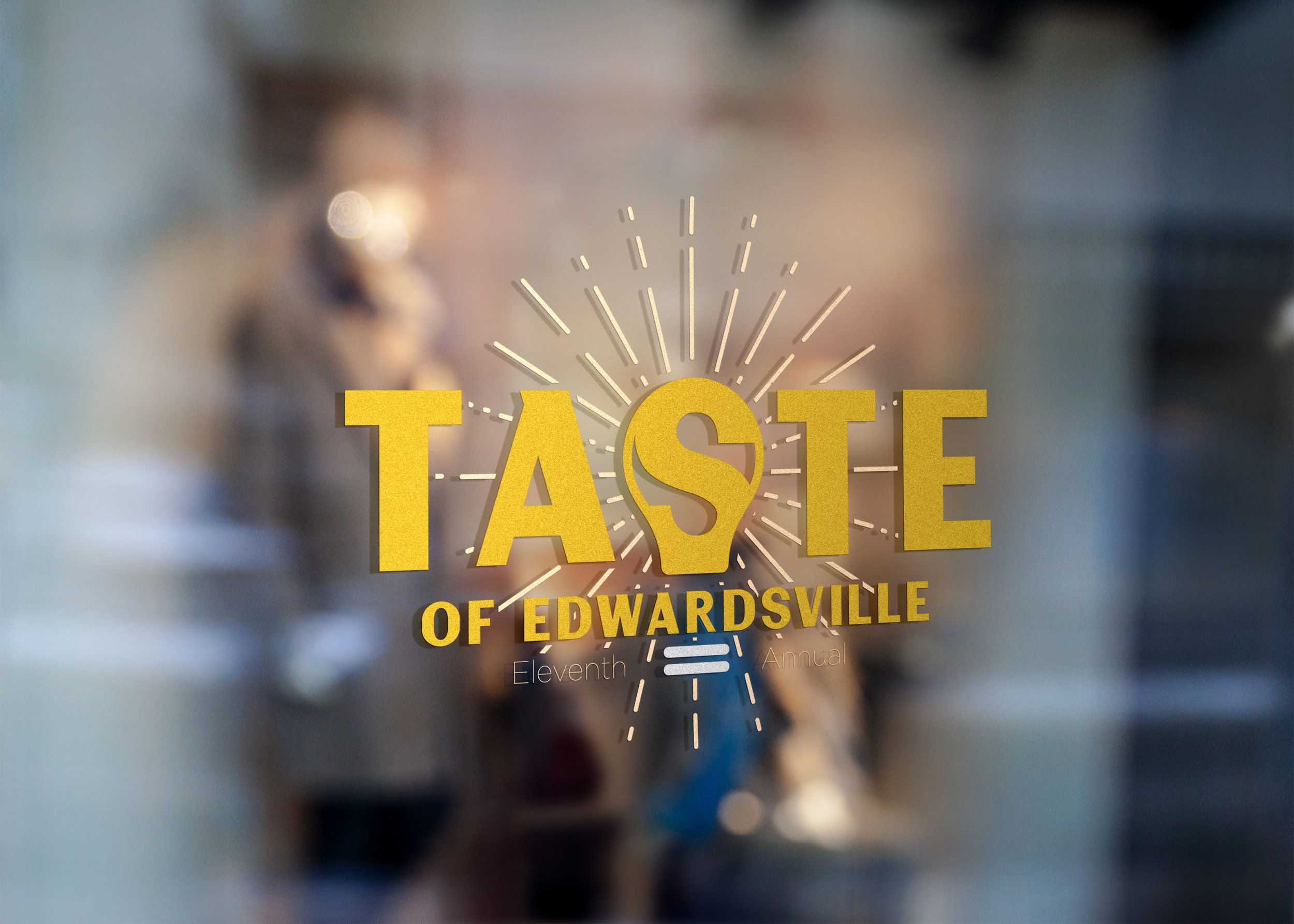 taste of edwardsville - A fantastic fund raising event hosted every year by Edwardsville Neighbors. For 2019 I branded the event and designed close to 200 pieces.