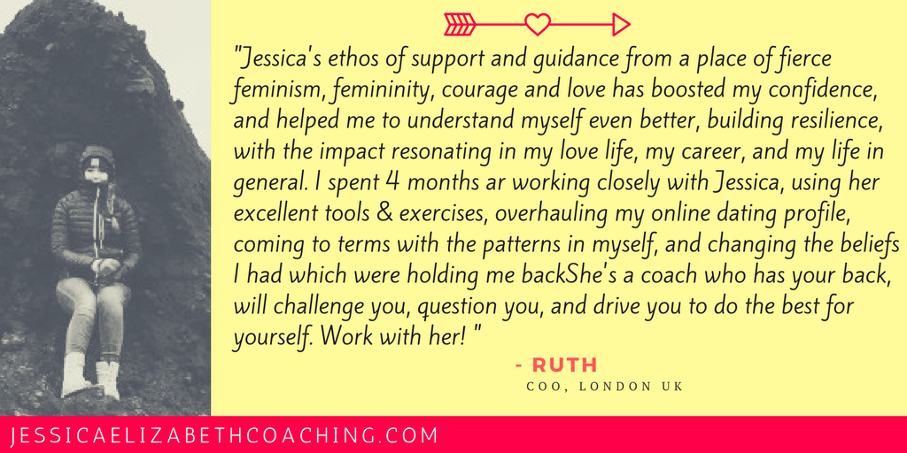 Read Ruth's full testimonal under my RAVE REVIEWS