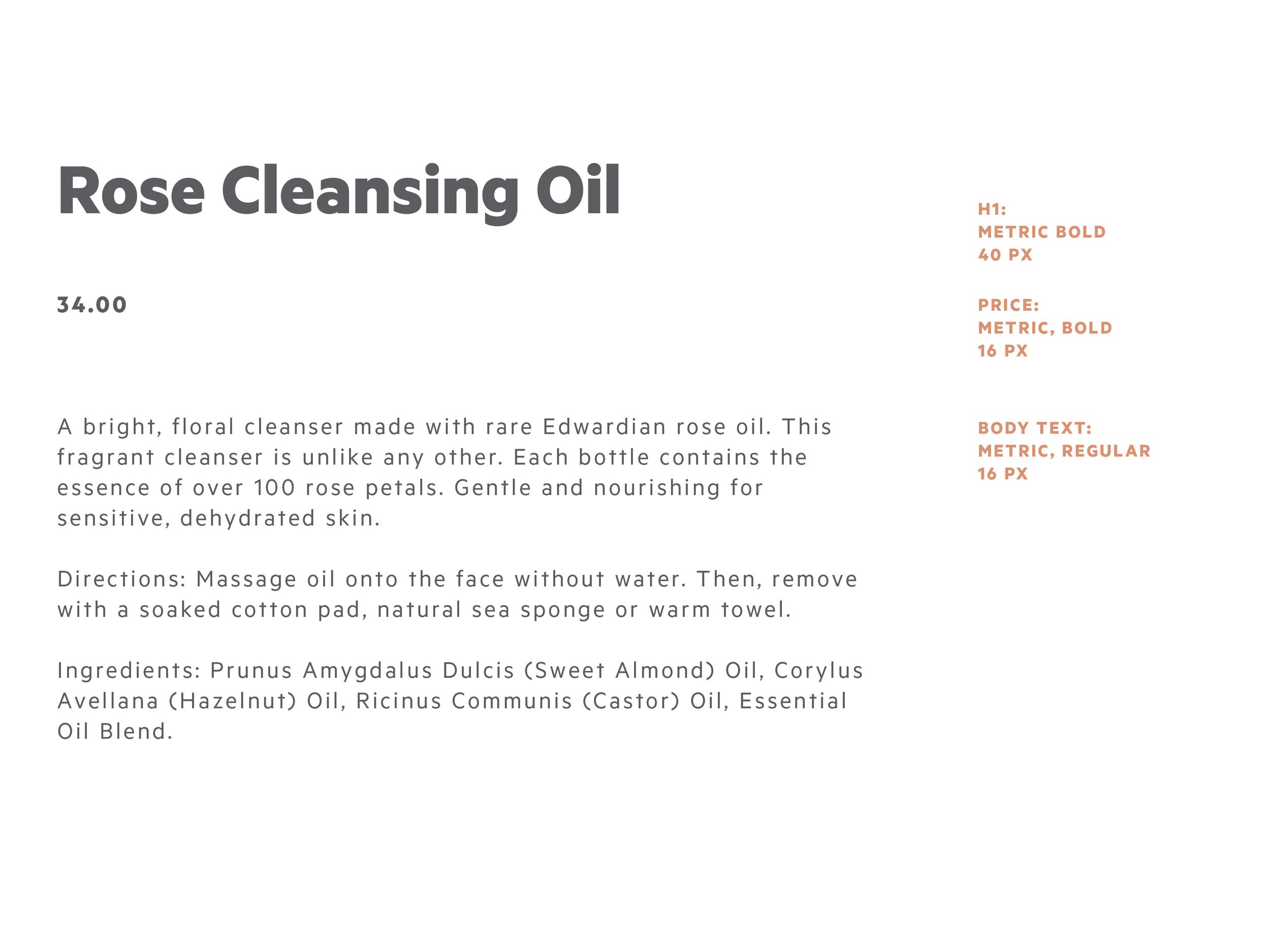 Online typography styles