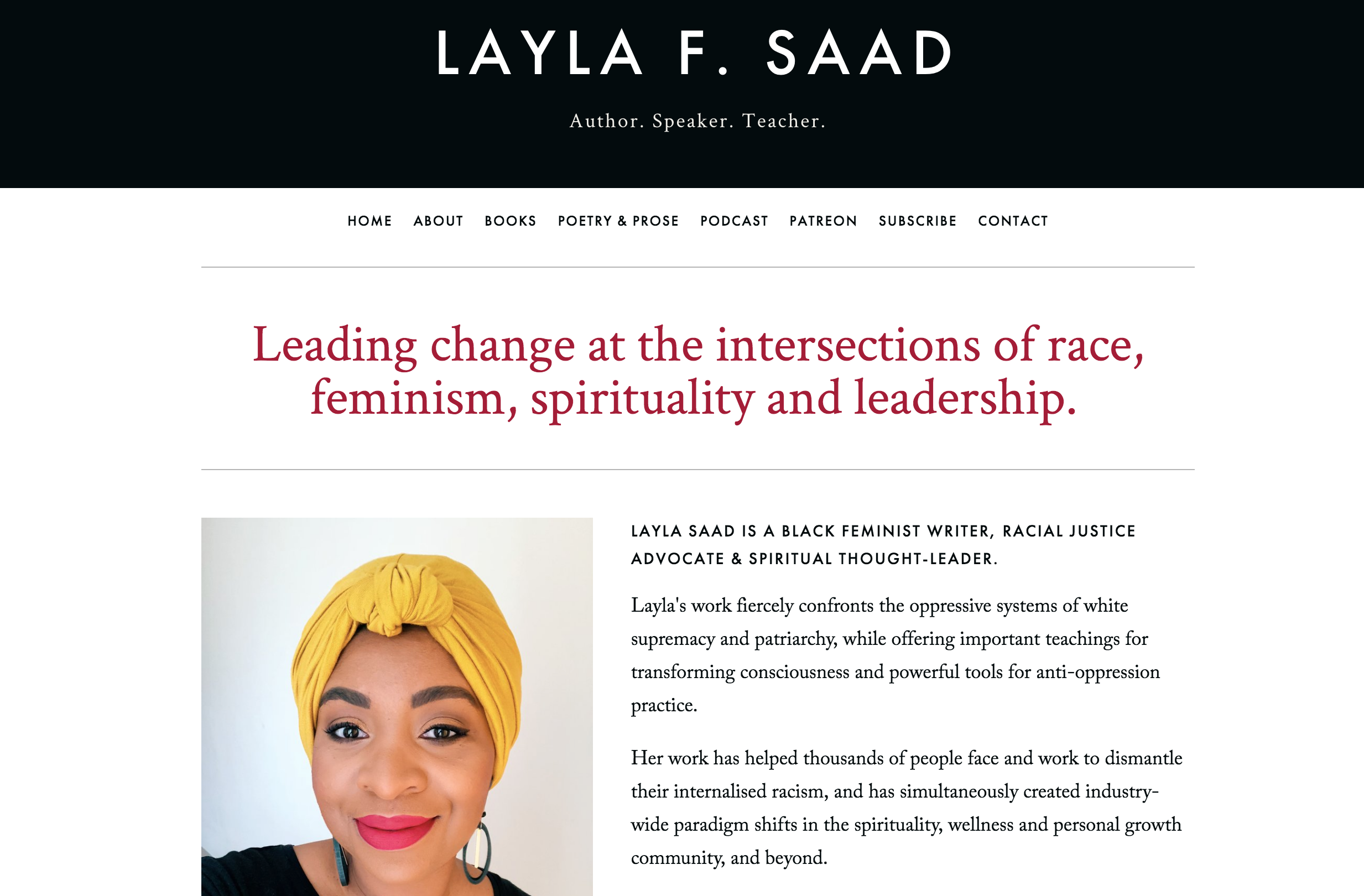 layla f saad me and white supremacy