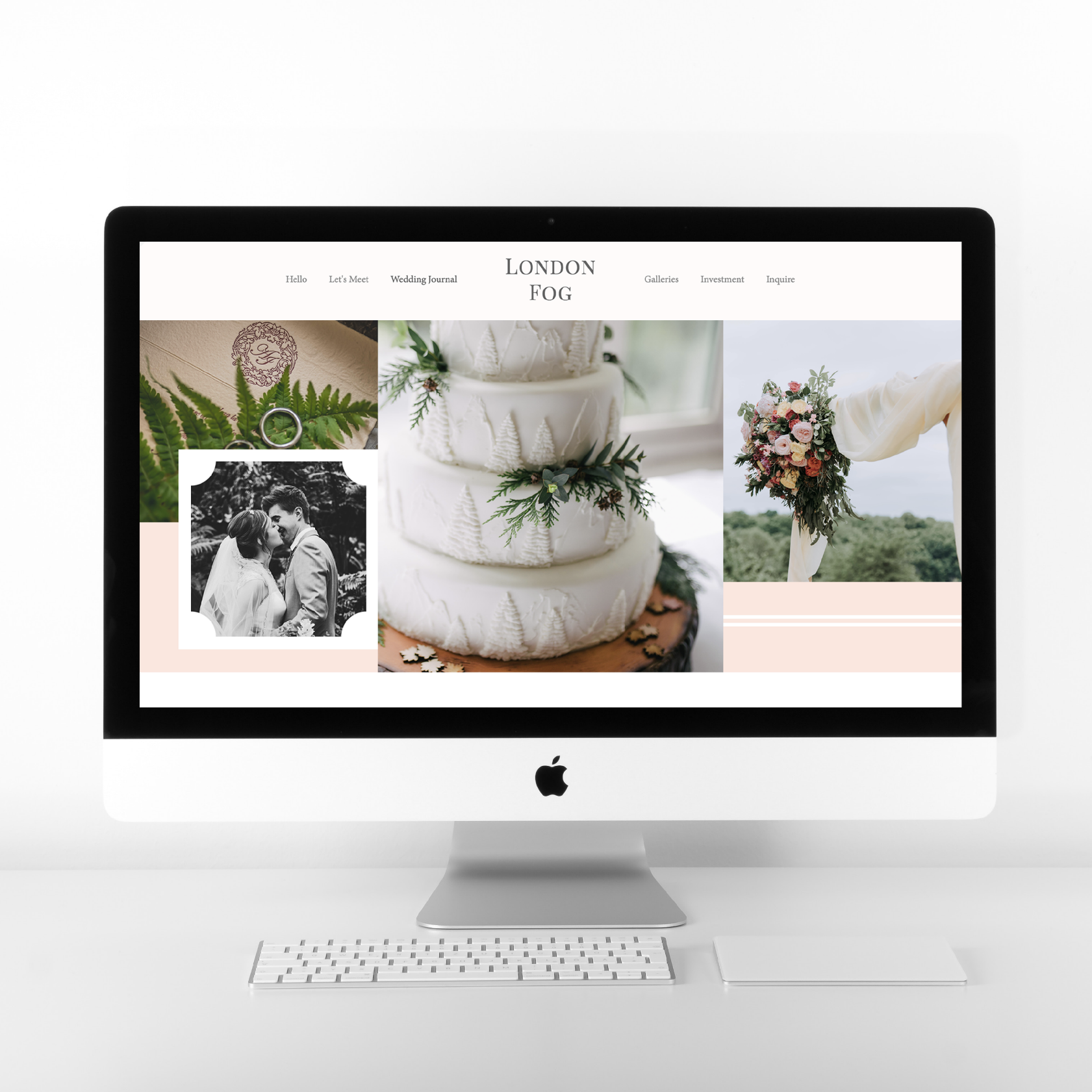 London Fog is a beautiful web design template, created with photographers in mind. | Alexis the Greek