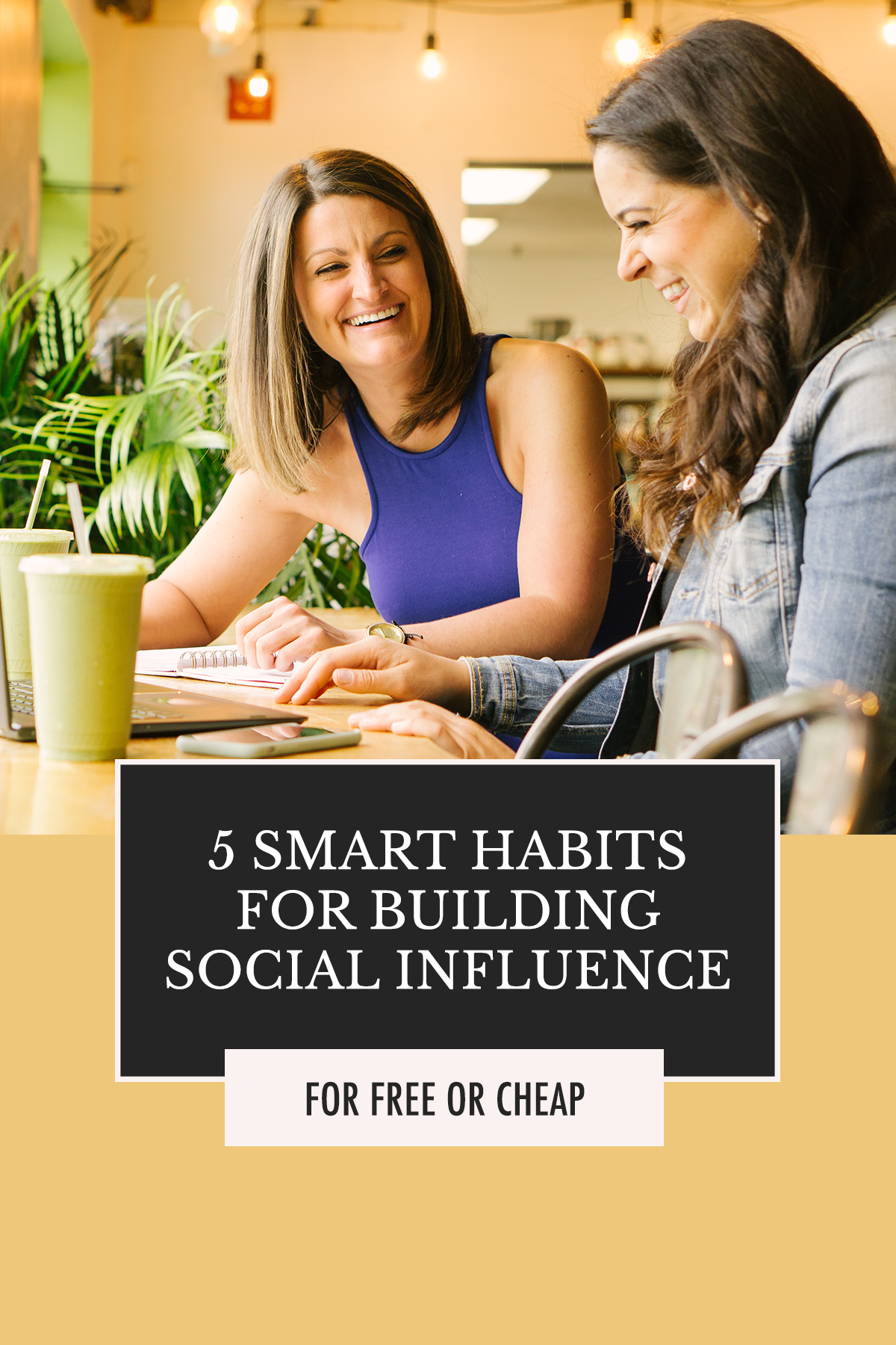 Are you working on these areas of your business in order to grow? You should be! | 5 Smart Habits for Building Social Influence | Alexis the Greek