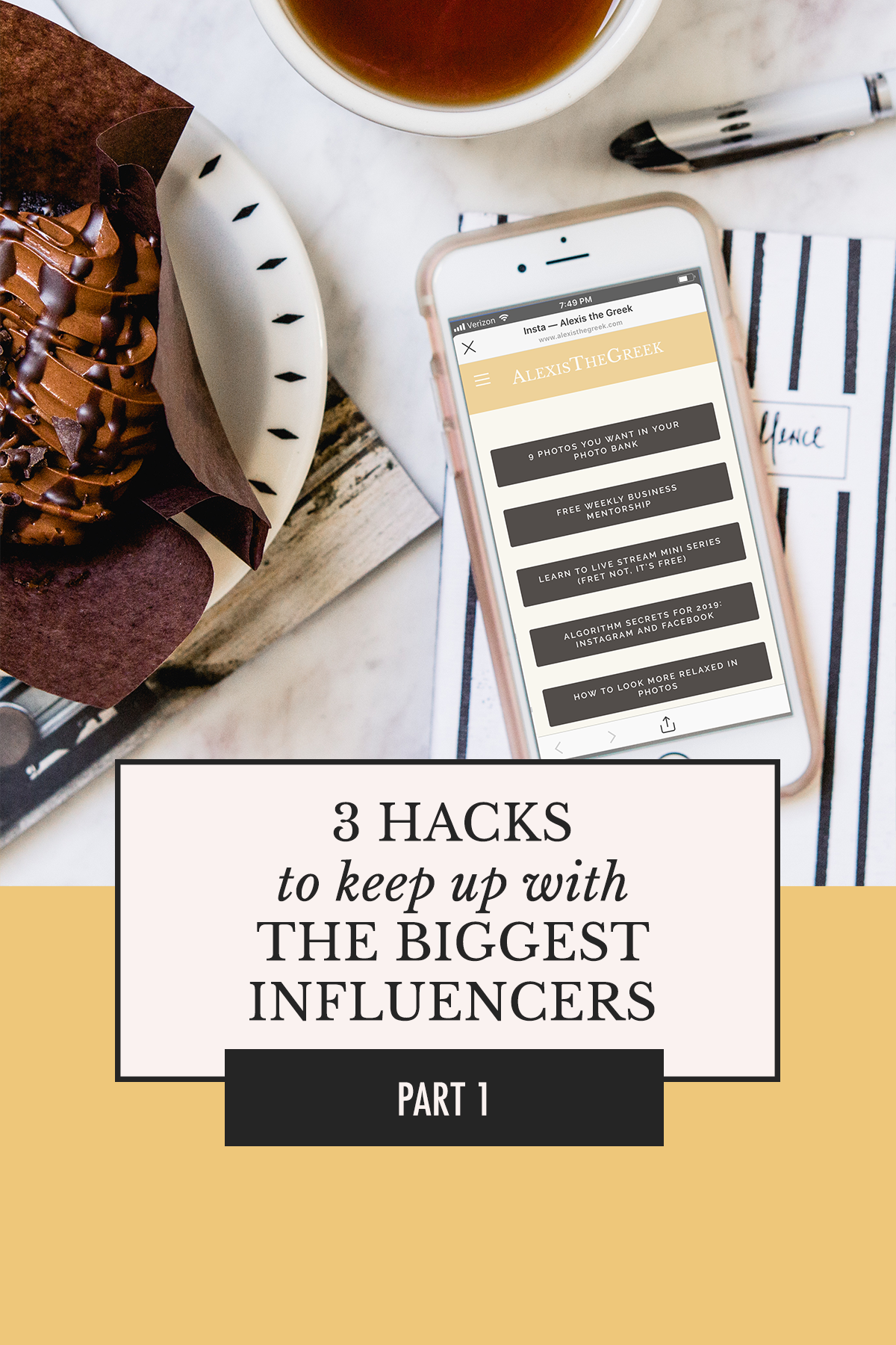 Did you know? You can use your Squarespace account for more than just your website! Here's how. | 3 Hacks to Keep Up with Influencers | Alexis the Greek