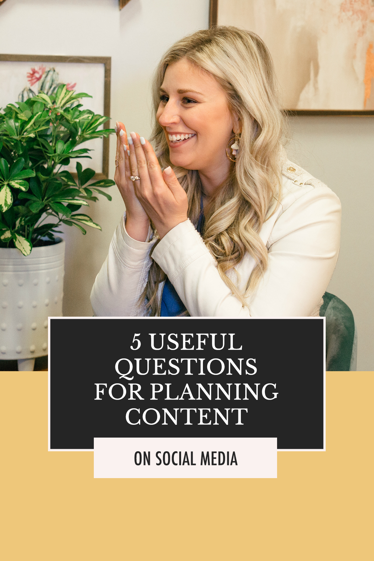 What social media content should you be creating to grow your business? Here's the answer! | 5 Useful Questions for Planning Social Media Content | Alexis the Greek blog