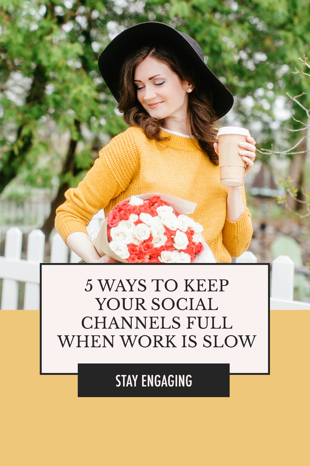 When you have no new work to showcase, does your social media presence start lacking? Reverse that with 5 Ways to Keep Your Social Channels Full When Work Is Slow | Alexis The Greek blog