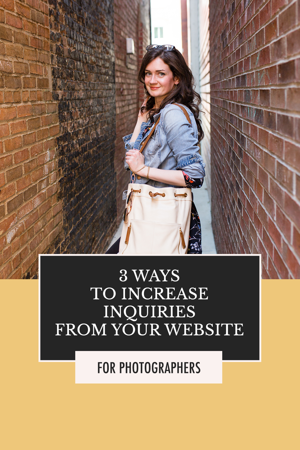 3 Ways to Increase Inquiries from Your Photography Website | How to Book Clients 101 with Alexis The Greek