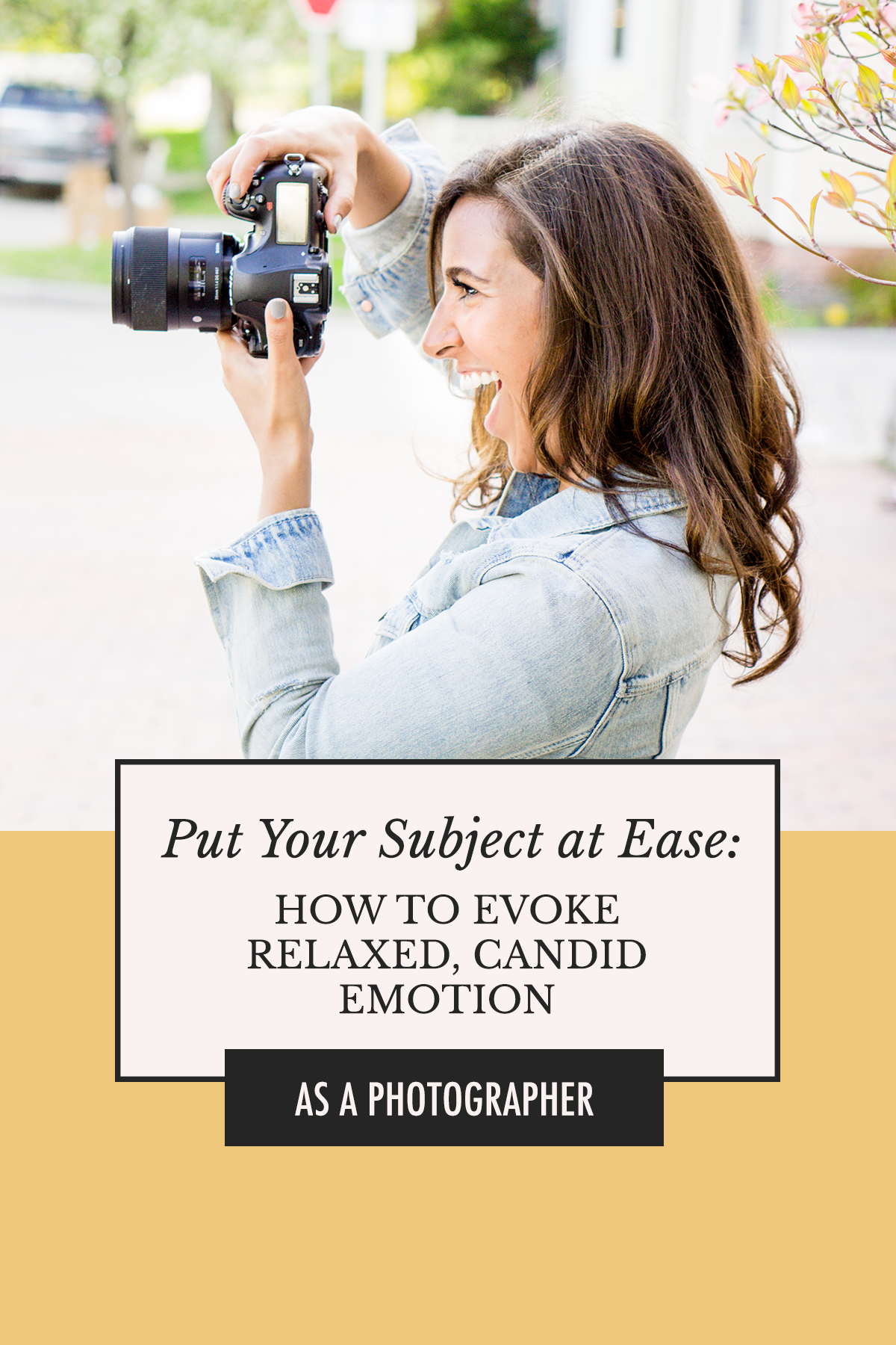 Resources for Photographers by Alexis The Greek | Become a Better Photographer! How to Get Your Subject to Relax, Open Up, and Show Real Candid Emotion