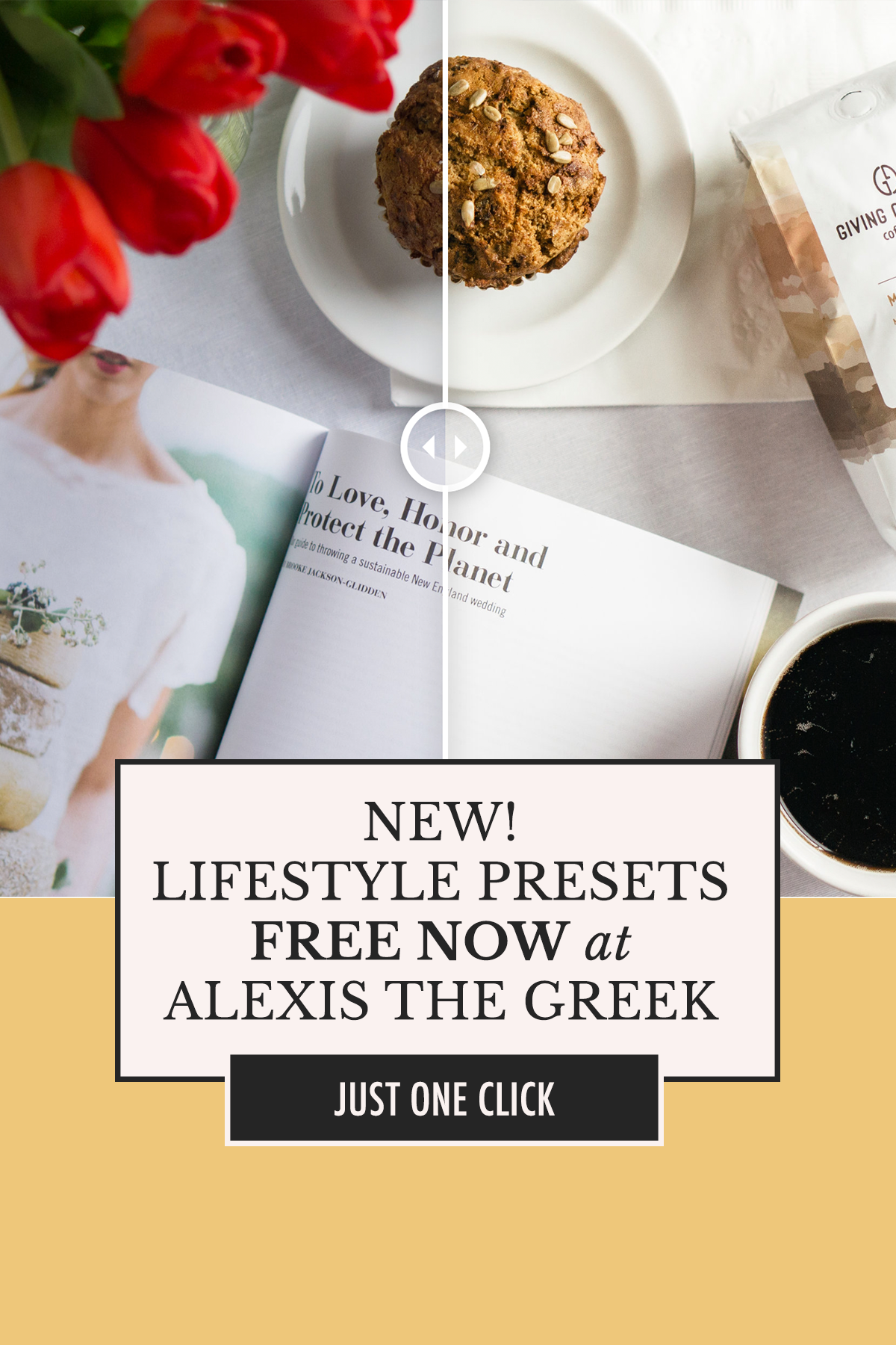 FREE Lightroom Presets—no catch! Get these 3 lifestyle presets at alexisthegreek.com | Alexis The Greek blog