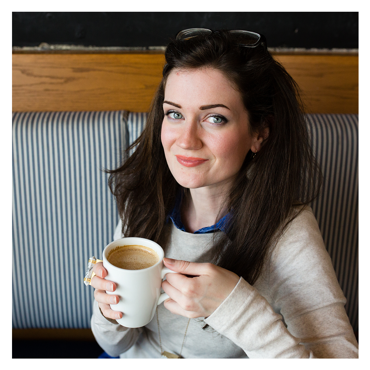 Hello! My name is Alexis. - Coffee lover, day dreamer, foodie, and creative. Currently working and living in New Hampshire, I'm an eclectic mix of forward-looking and completely old-fashioned.