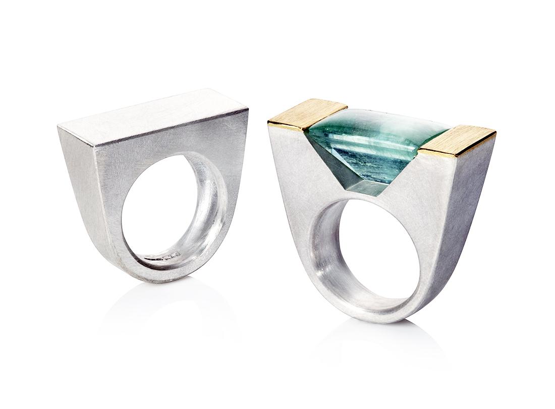 Aquamarine ring - 2018 Commission