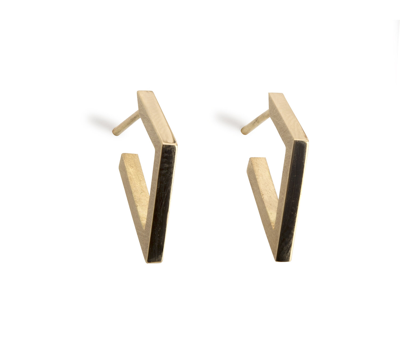diamond shaped wood hoop