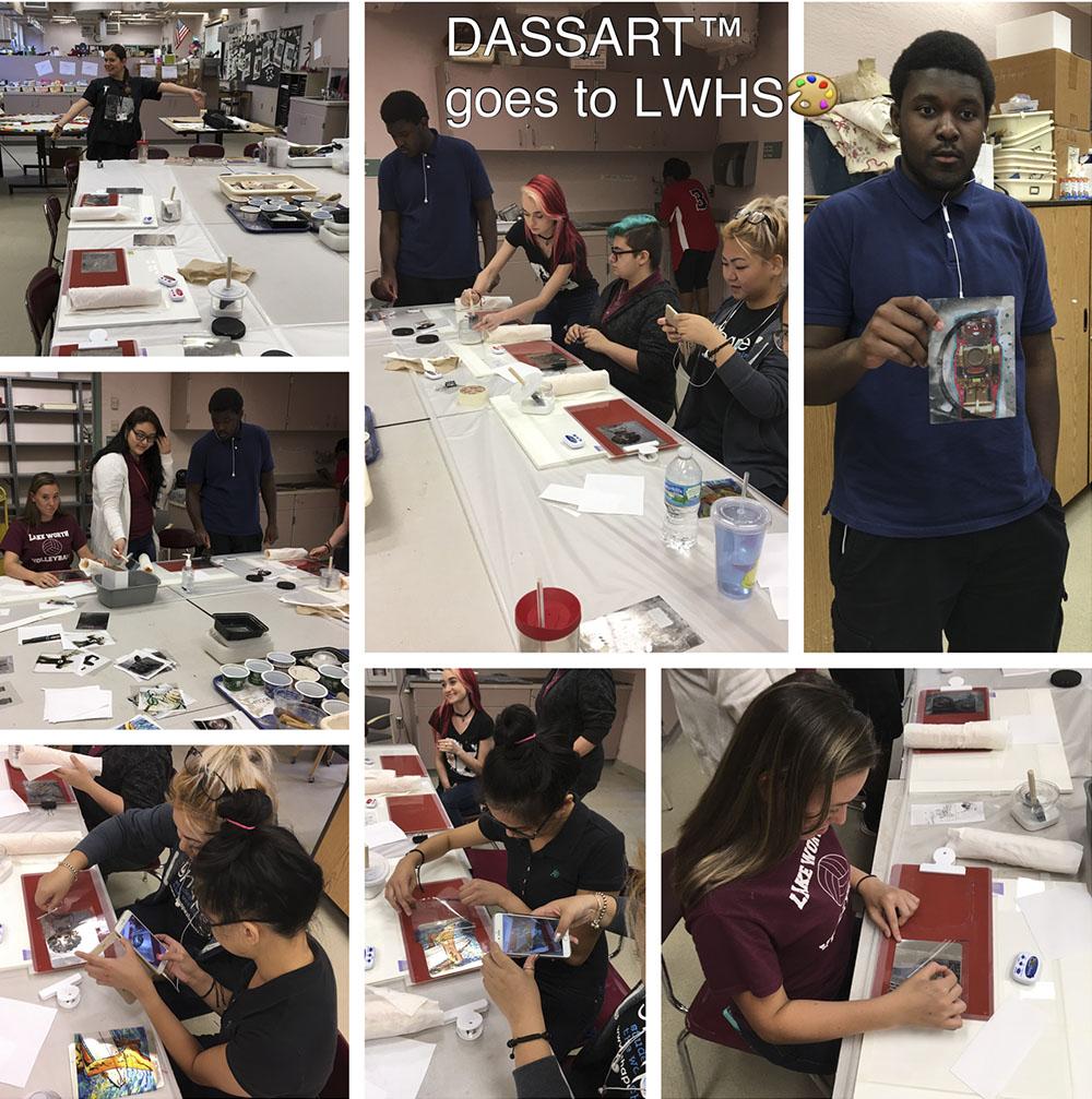 DASSART™ goes to Lake Worth High School art department