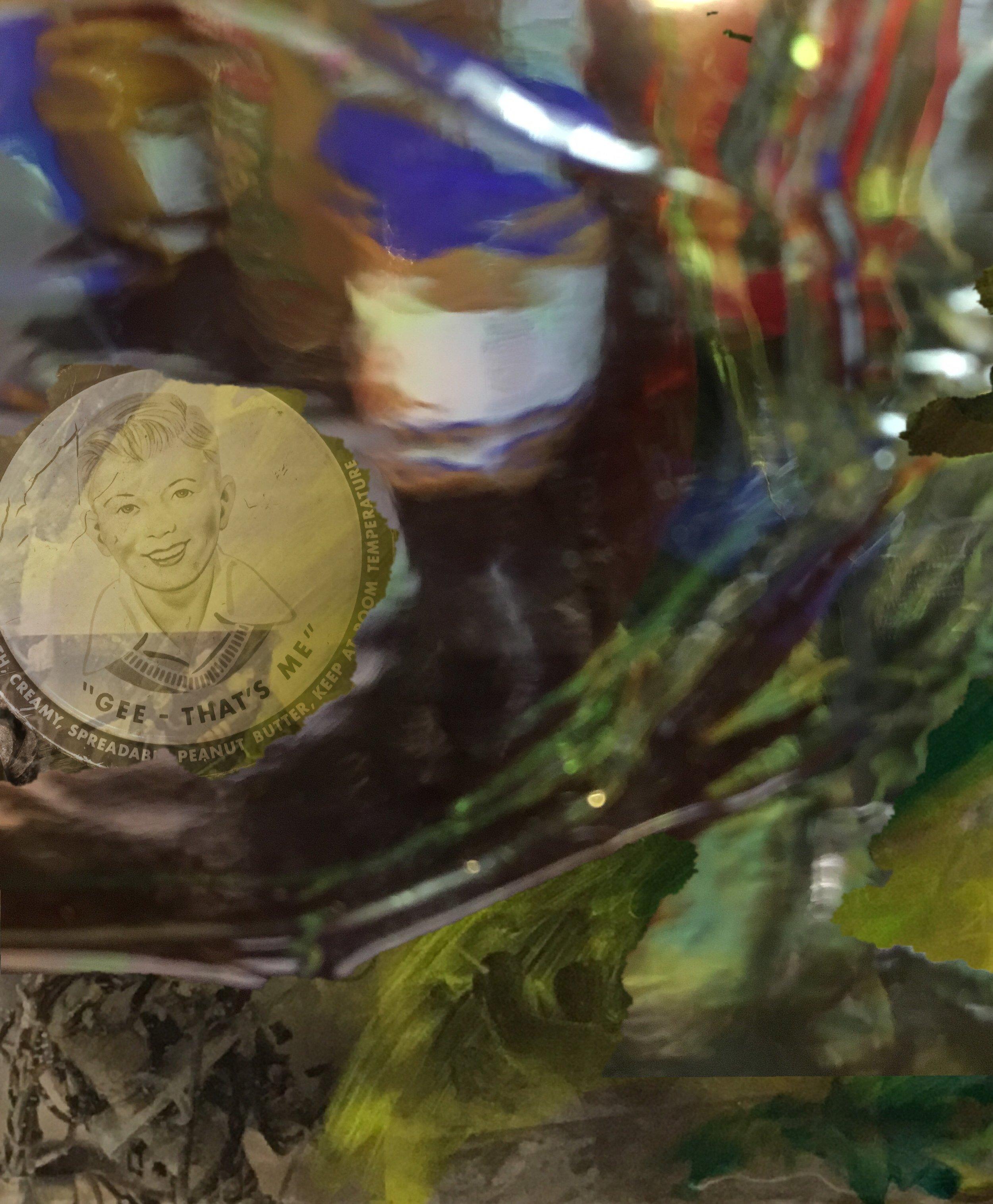 Peanut Butter, archival pigment transfer image,©CE, 2016