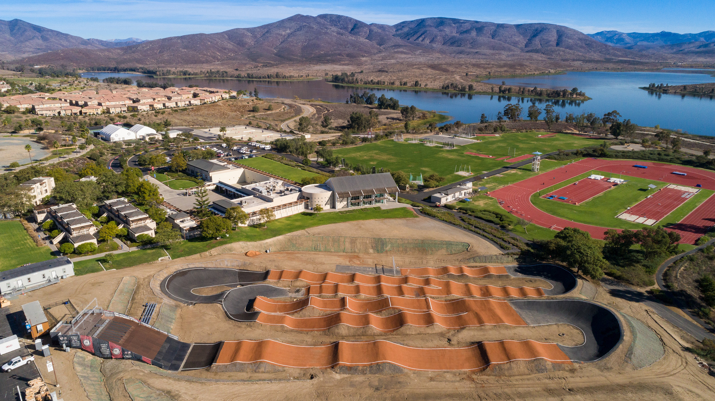 The Chula Vista Elite Athlete Training Center, emil kara, architectural photographer, san diego