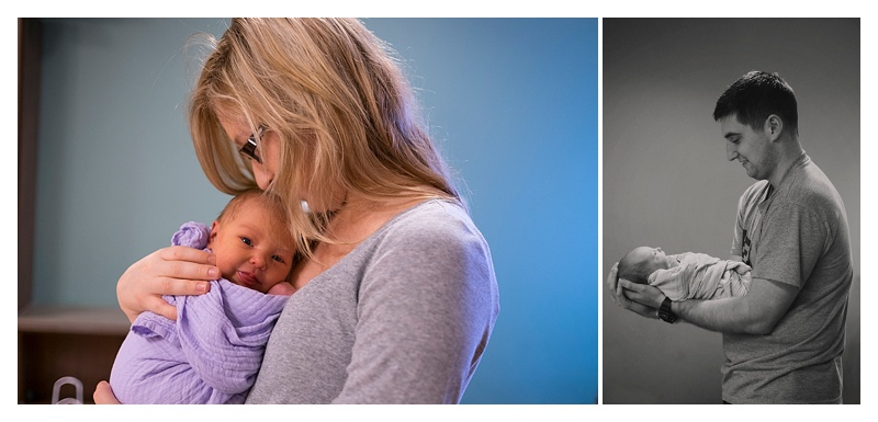 Sentara Leigh Newborn Photos