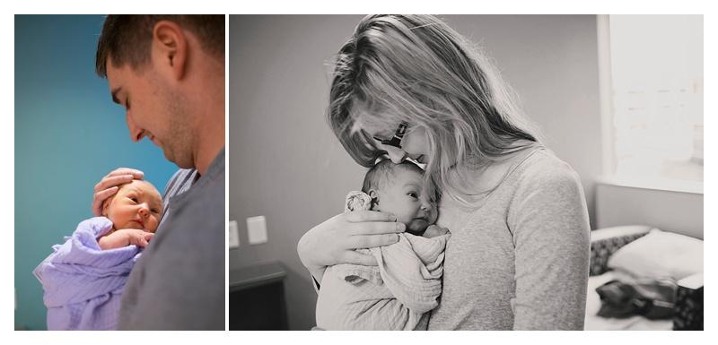 Newborn Session - Sentara Leigh Hospital - Virginia Beach