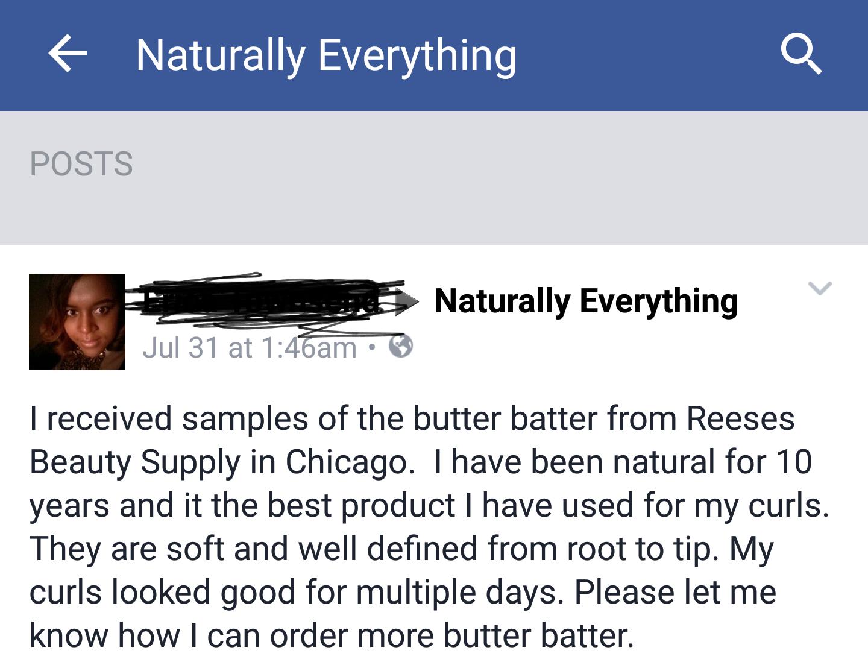 Butter Batter!