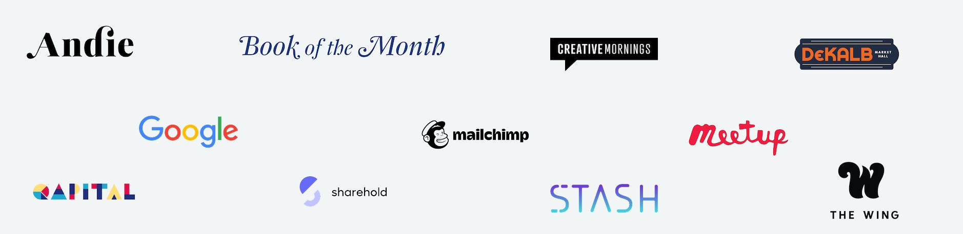 Christine Sirois -Client Logos
