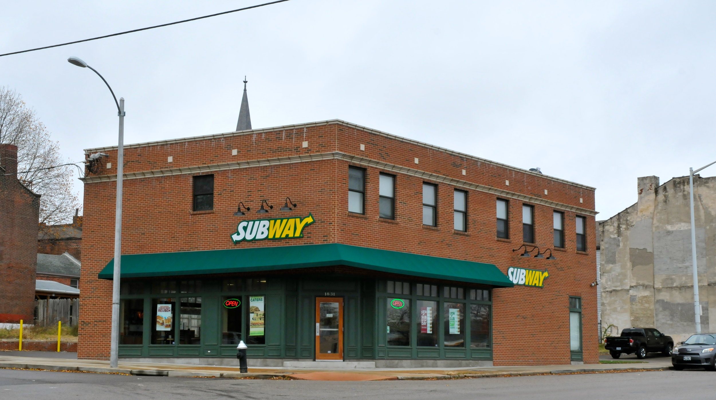 Subway - in the Soulard Neighborhood on South Broadway