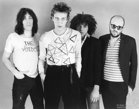 Bob on the right (NYC-1977). Photo Credit - Bob Gruen