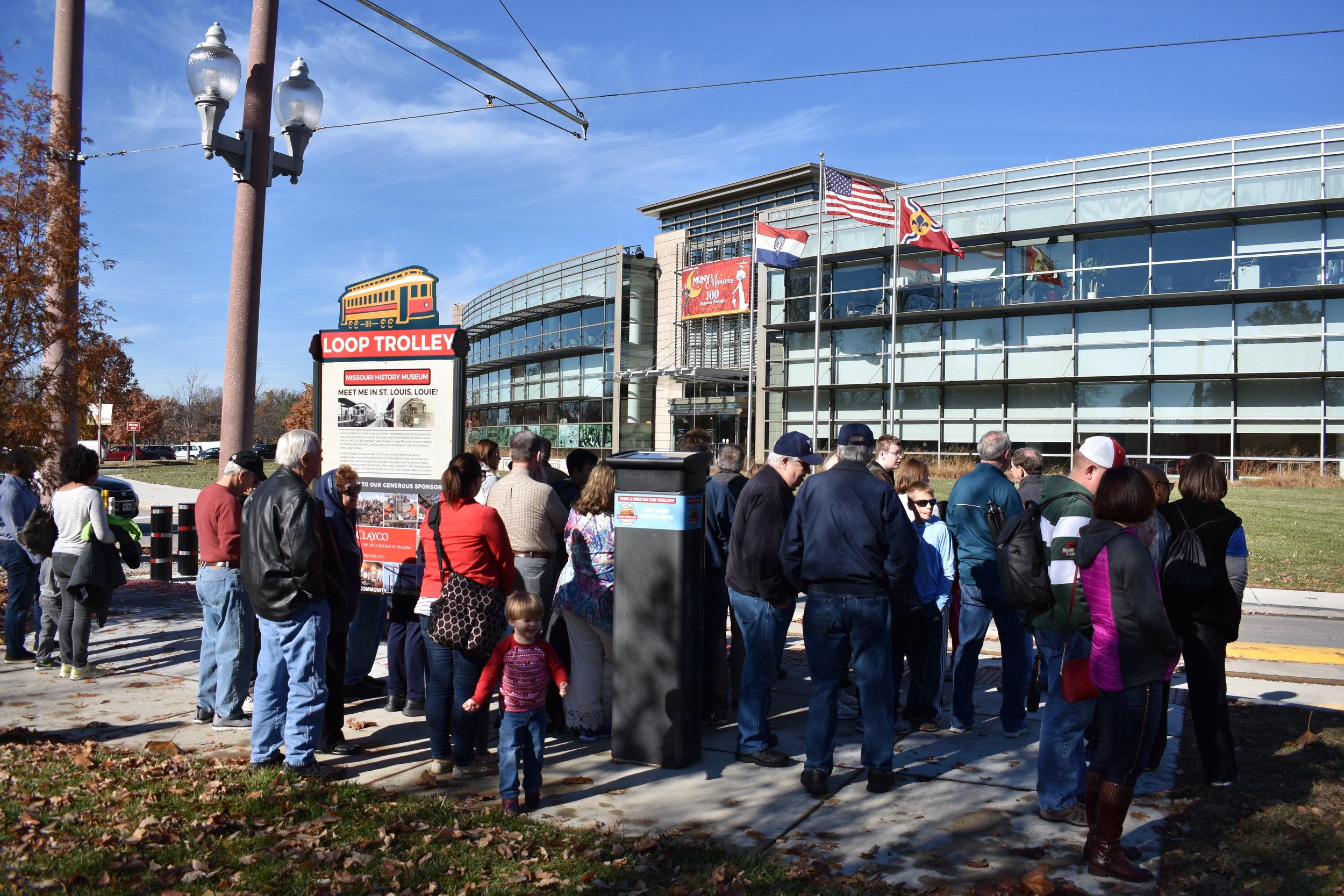 Missouri History Museum - Loop Trolley Stop