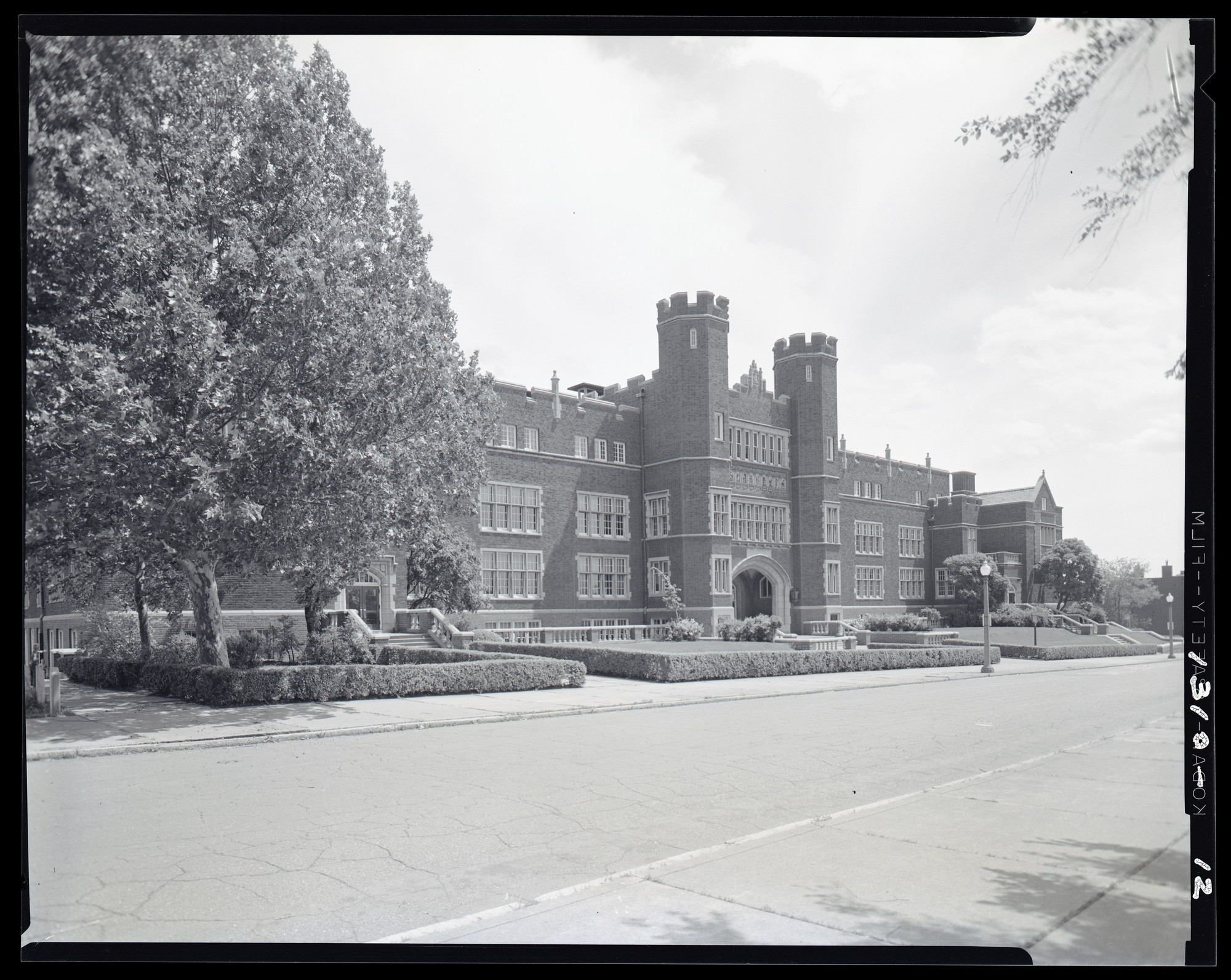 Photo Source -  Missouri Historical Society  (ca. 1957)