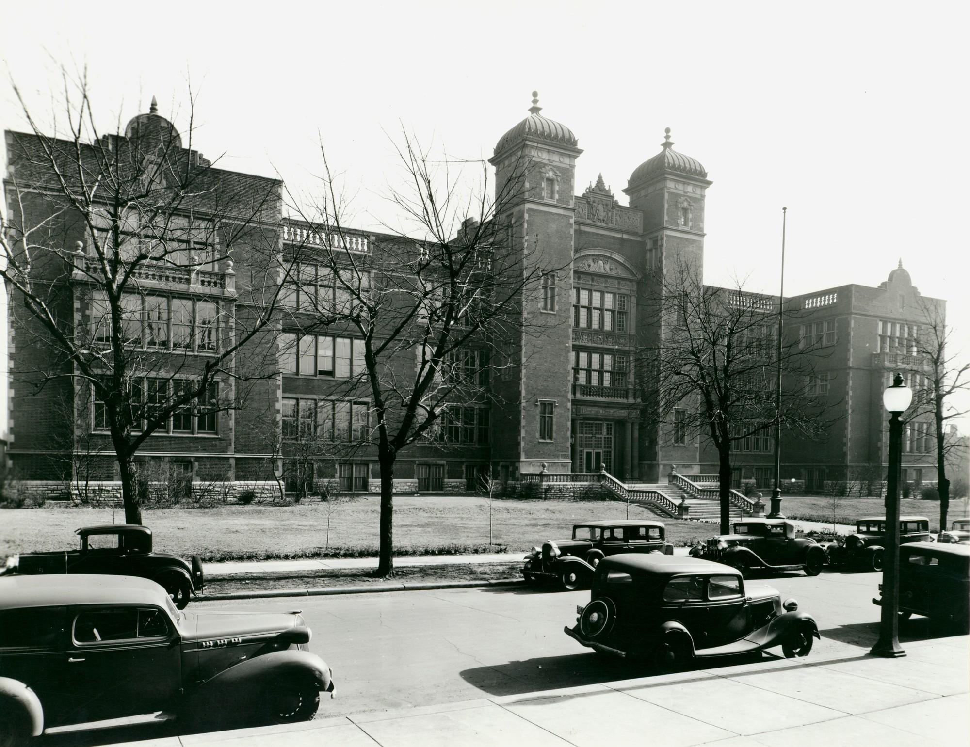 Photo Source:  Missouri Historical Society  (ca. 1930)