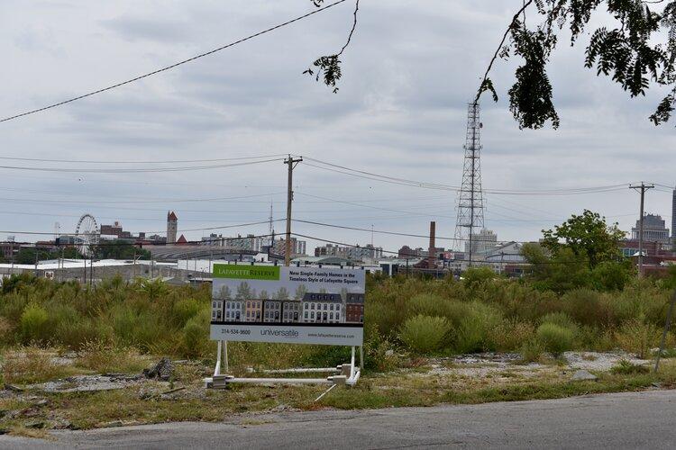 Future site of Lafayette Reserve