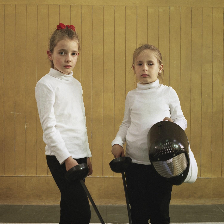 Chiara and Elena at 8 and 6