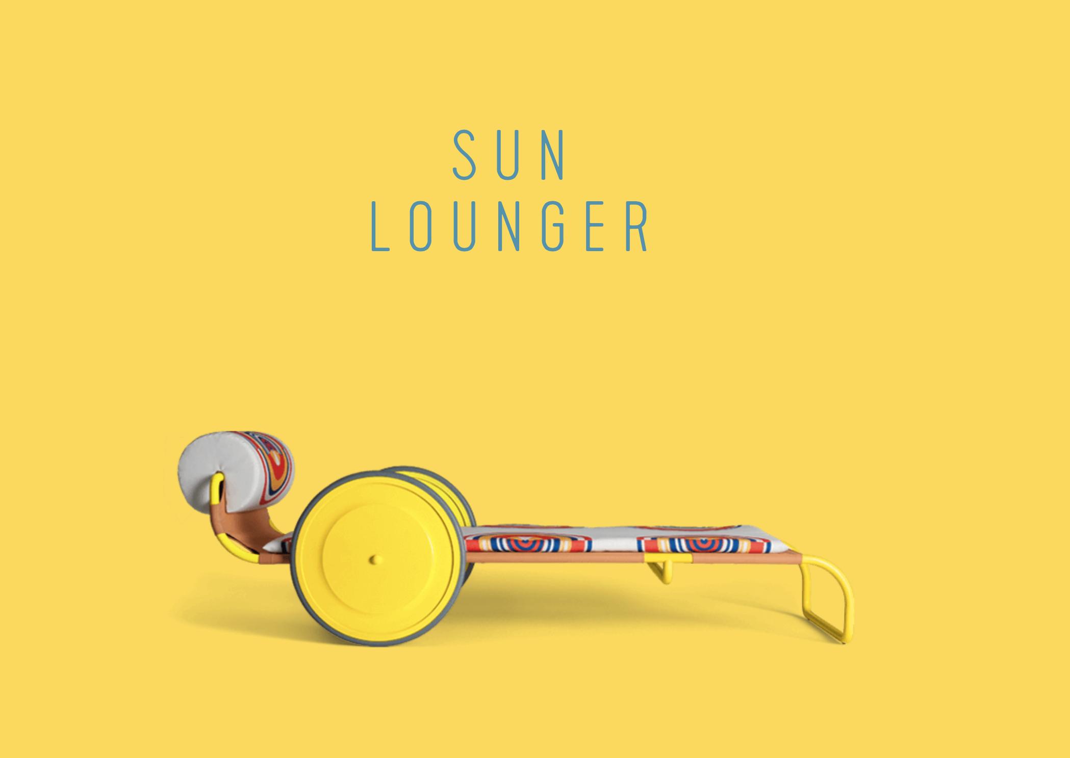 Locus Solus Sun Lounger  - Inquire