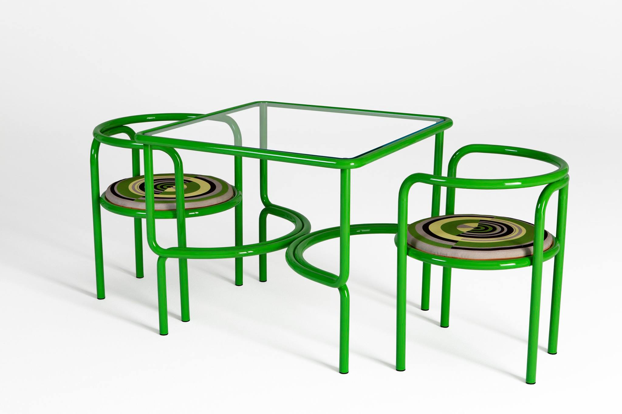 Locus Solus Dining Table and Chairs  -  Inquire
