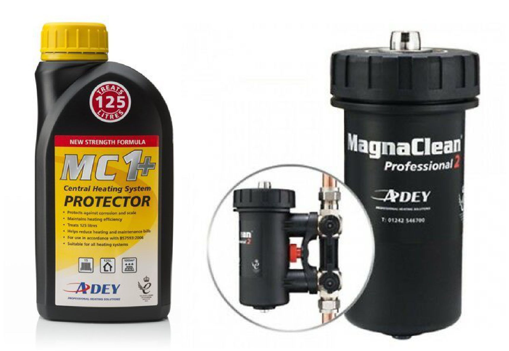 the bearded heating co mc 1 and Magnaclean Pro 2
