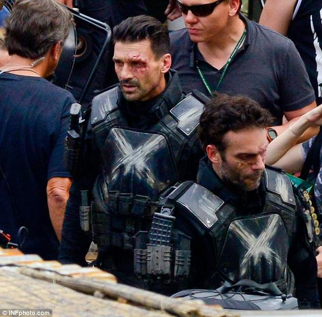 Doubling Frank Grillo/Crossbones on Captain America Civil War