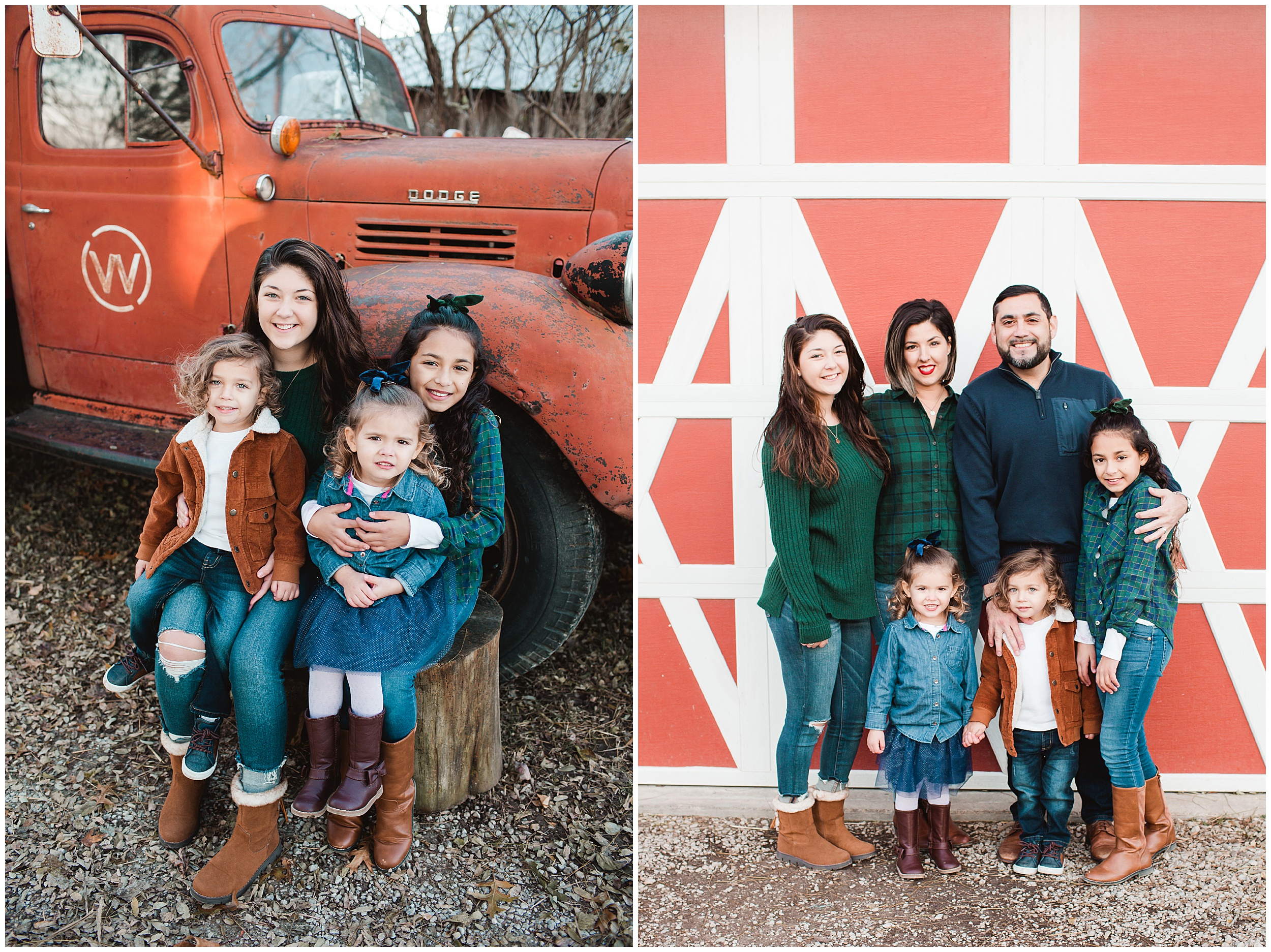 Dull's Tree Farm Family Photography Session