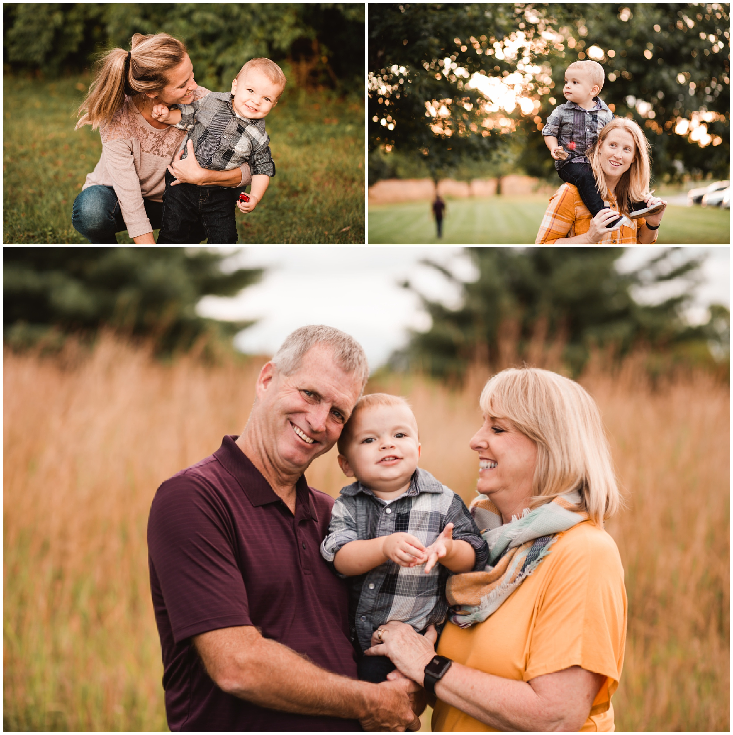 Indianapolis Extended Family Photography