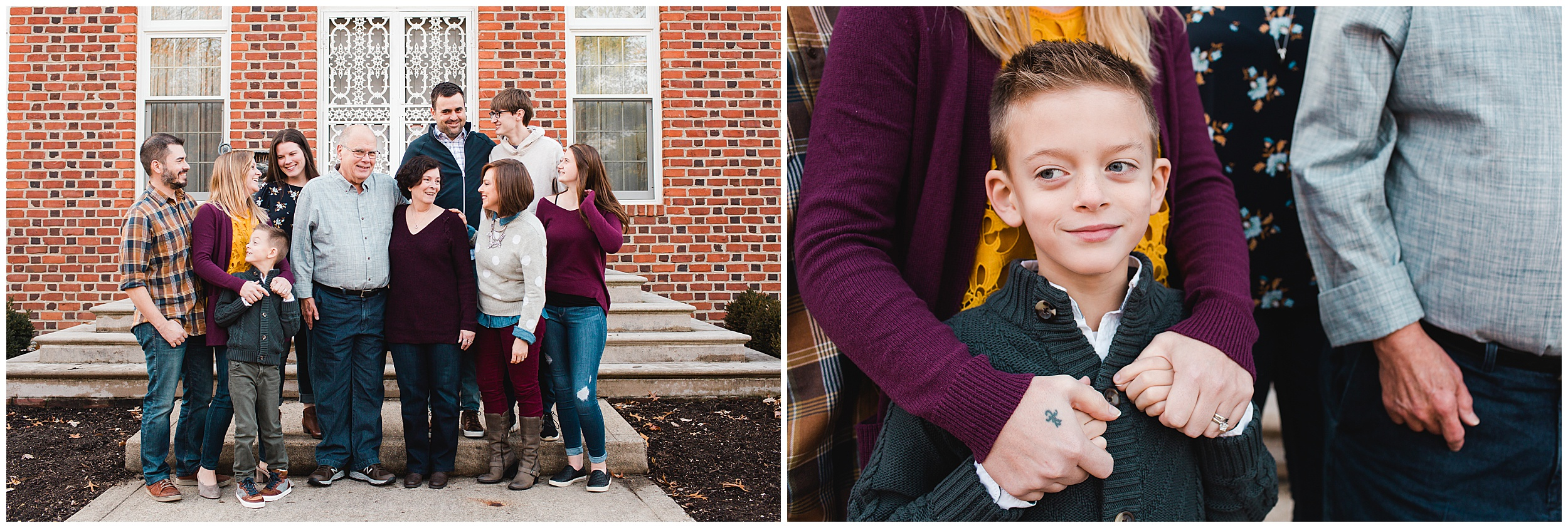 Indianapolis Extended Family Photographer