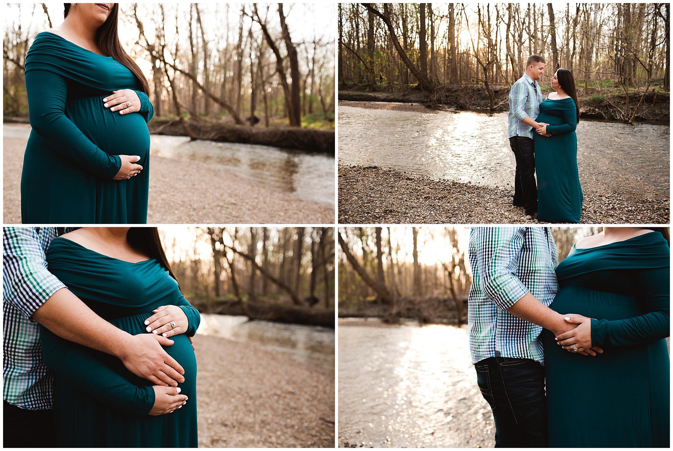 Carmel Maternity Photographer Flowing Well Park