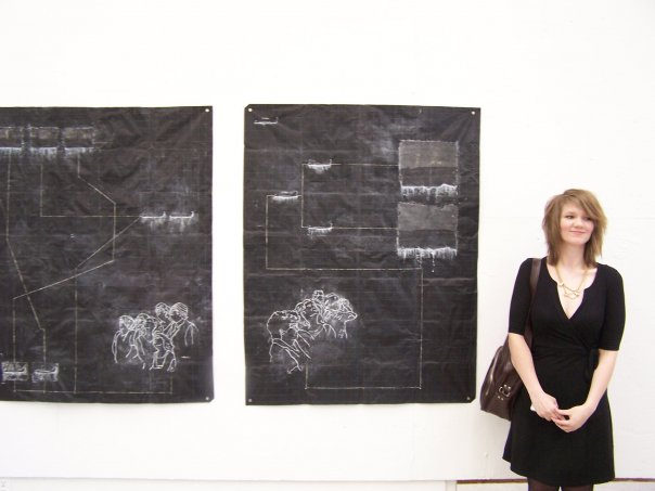 My BFA Grad  Show in 2008