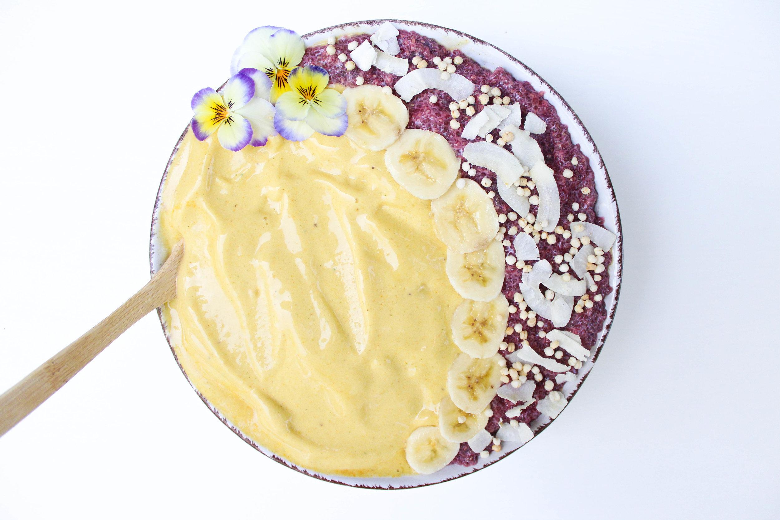Yellow Smoothie Bowl