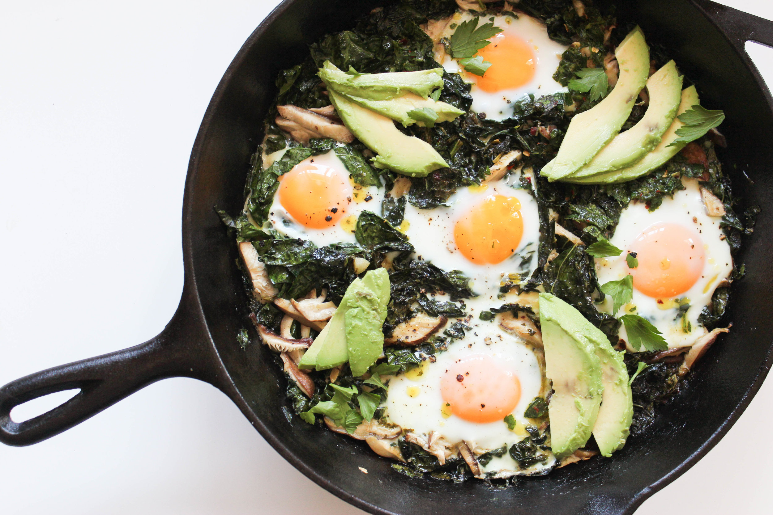 For Mother's Day Brunch or an easy weeknight meal, baked eggs are an incredibly versatile dish.