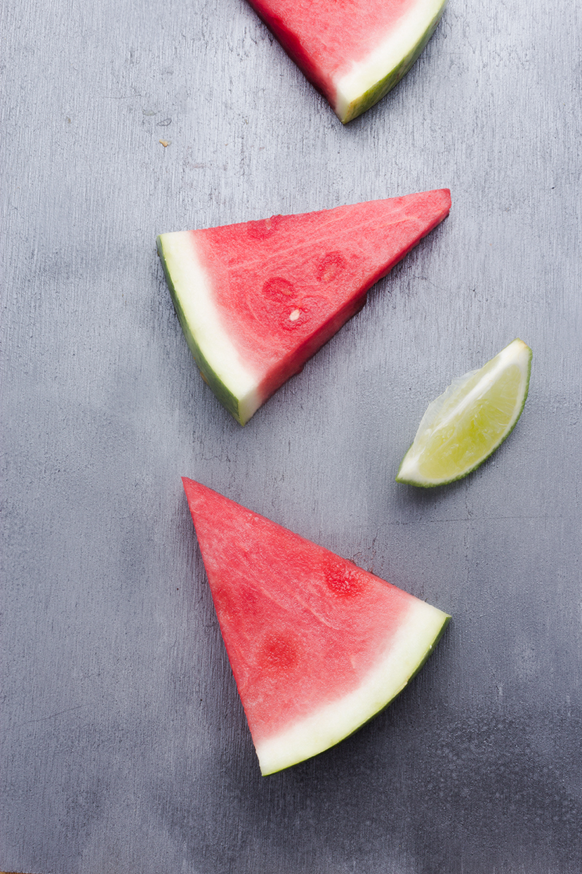 Juicy watermelon and tart lime require little to no added sugar for these sweet treats.