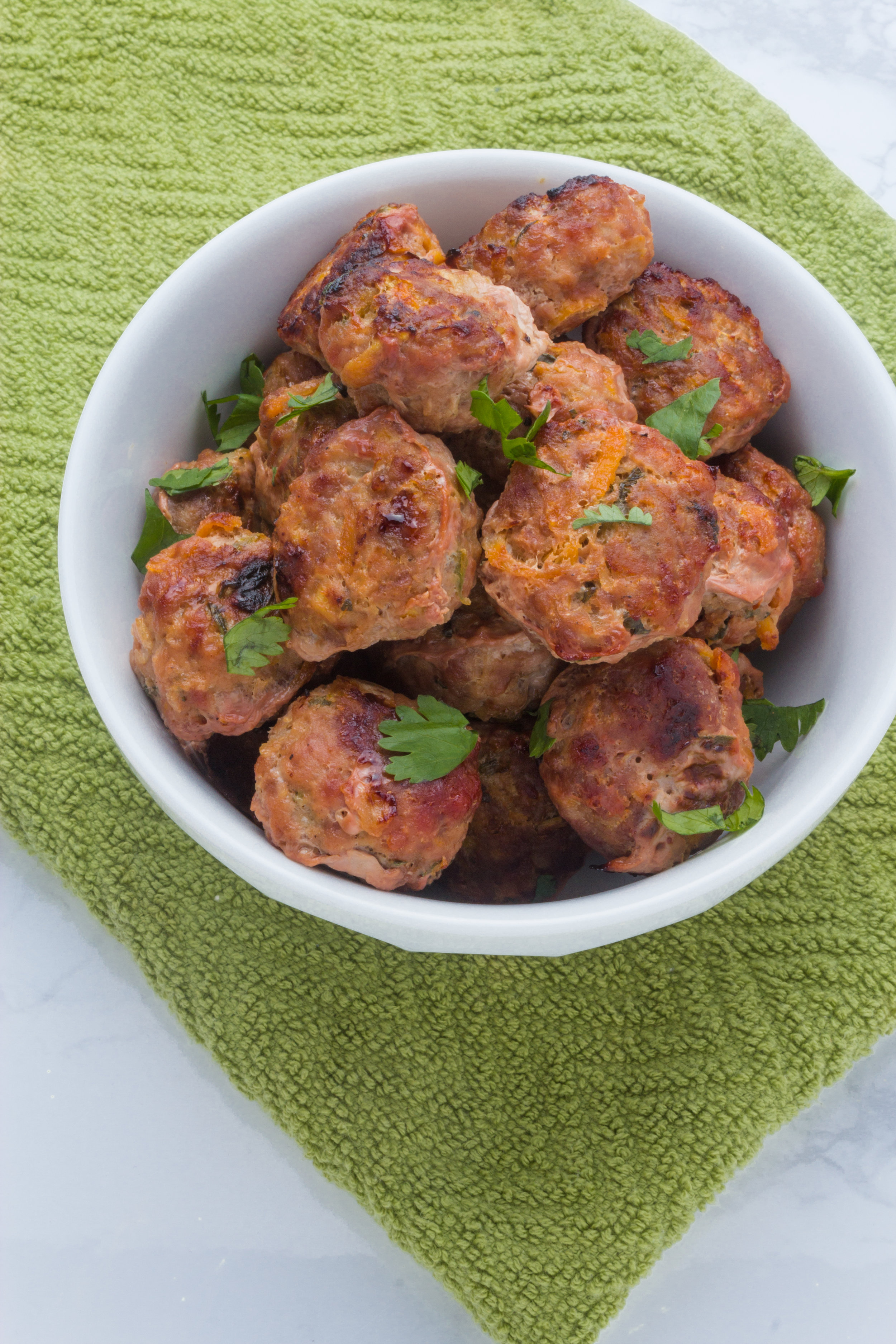 All the delicious flavors of a banh mi sandwich are in each bite of these meatballs.