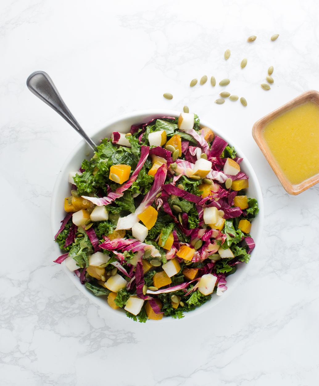 An inviting look: keep salads colorful with a variety of ingredients.