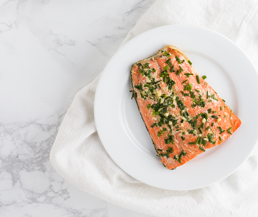 Think you can't cook fish? Think again with this incredibly simple Chive Butter Roasted Salmon recipe.