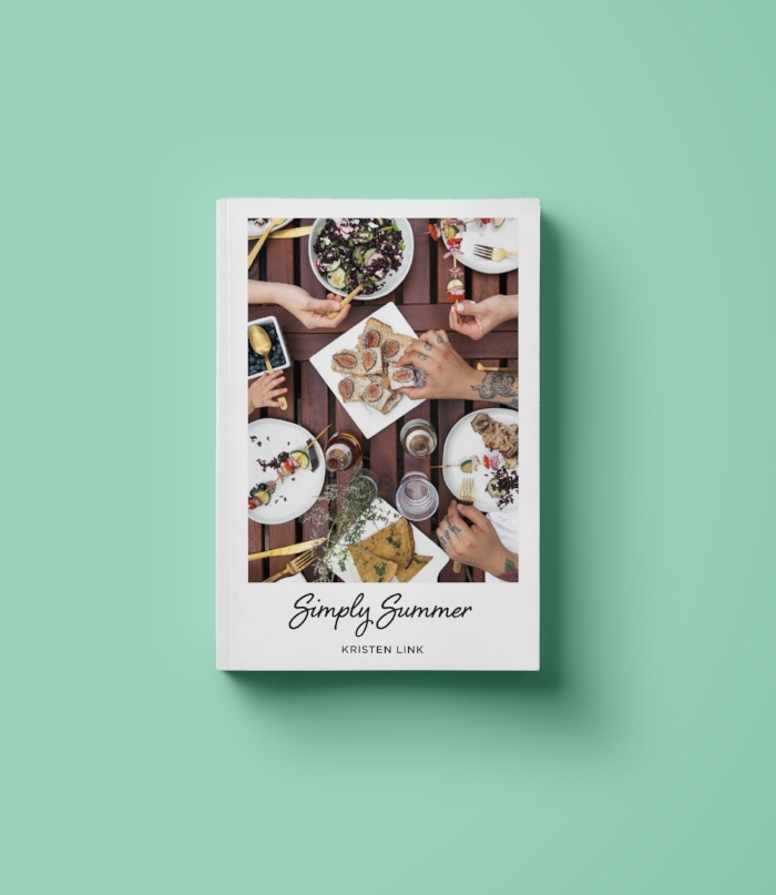 My cookbook, Simply Summer, is available now!