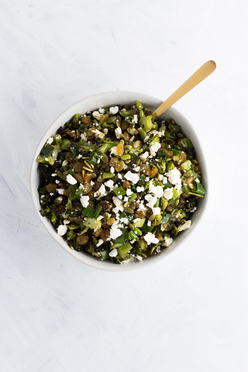 Everyone needs a salad that not only pleases a crowd but also comes together quickly. Enter this Roasted Broccoli Salad with Feta.