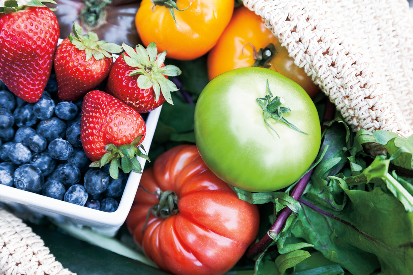 Summer is the peak harvest time for many varieties of fruits and vegetables including berries, tomatoes and greens.