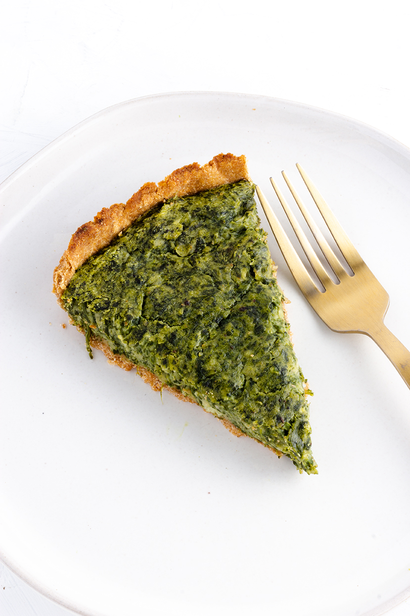 Perfect for a springtime brunch or easy weeknight dinner, this easy tart also only uses 5 ingredients!
