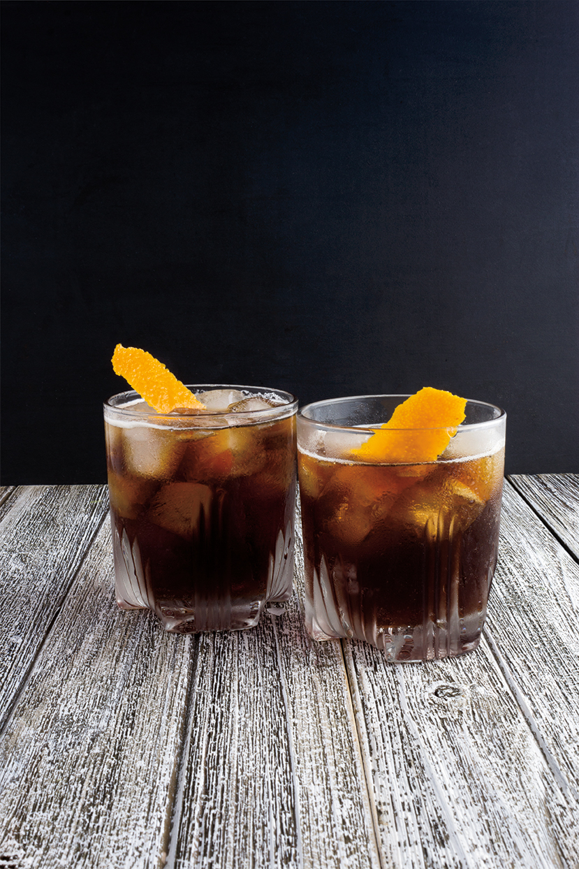 Cold Brew Bourbon Cocktail from Simply Summer