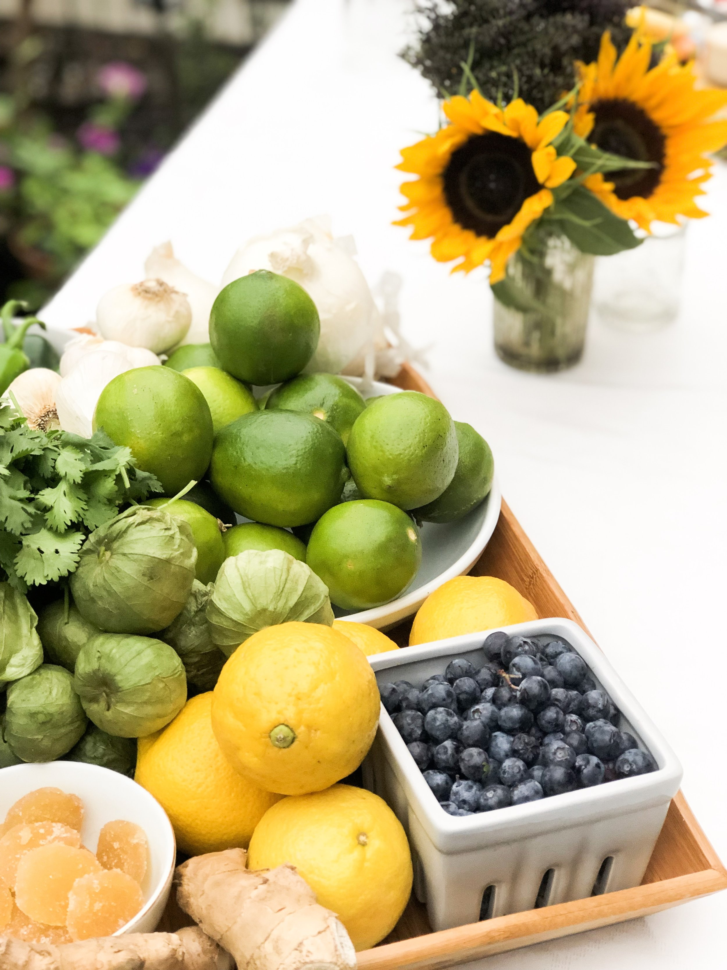 Fresh ingredients are abundant in summer so make sure to savor them with friends.